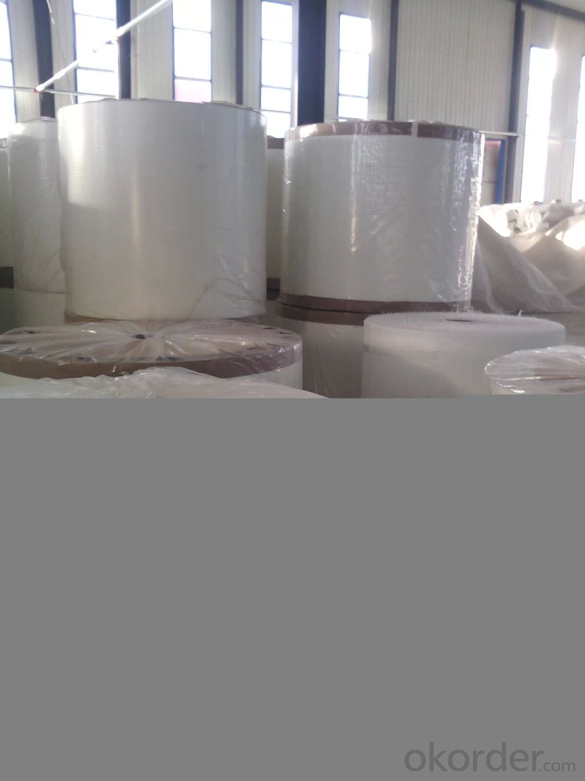 High strength industrial synthetic fiber