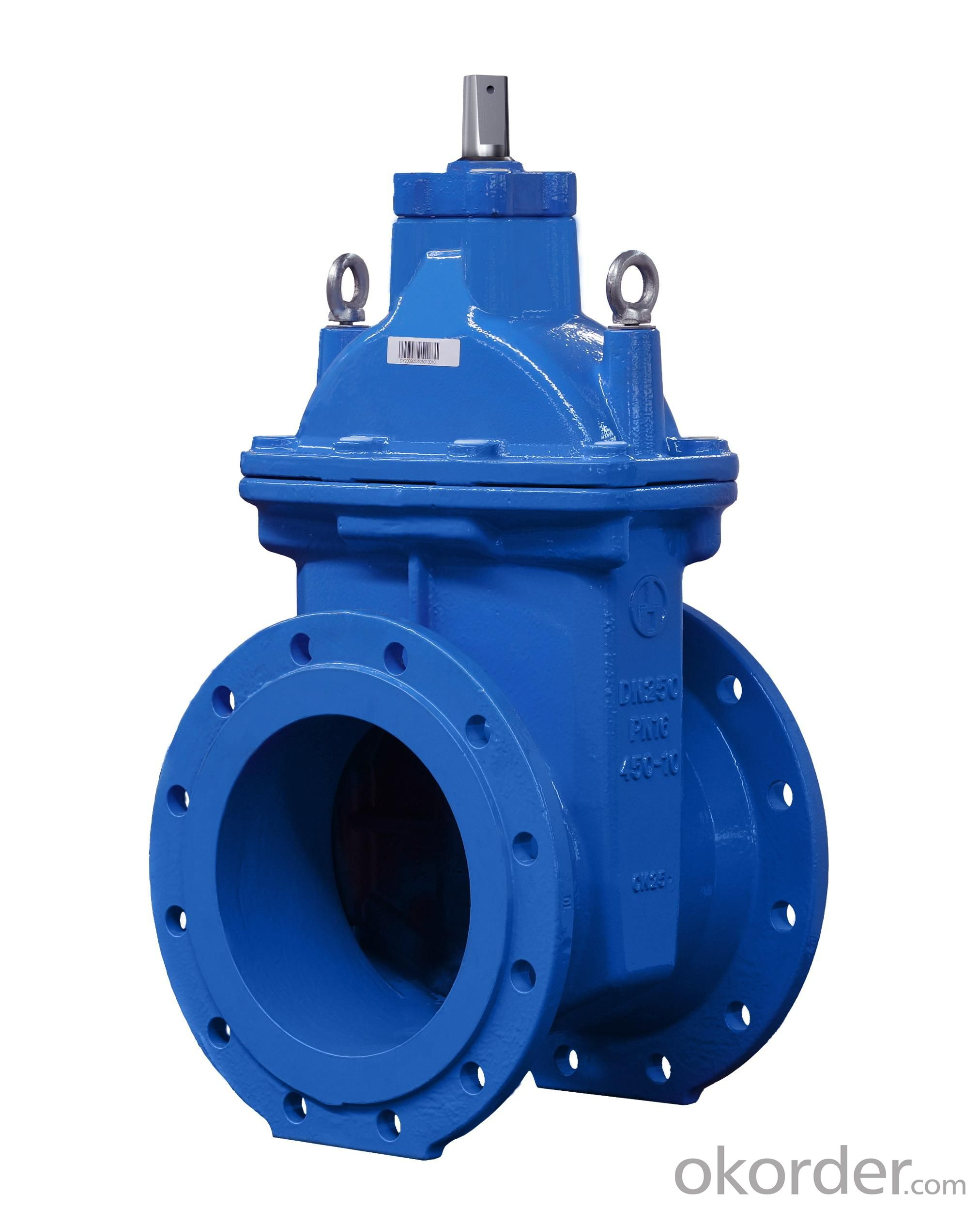 Non-rising Stem Metal Seated Gate Valves Made of Ductile Iron