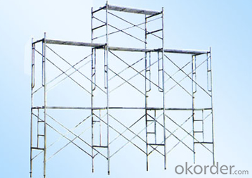Ring-Lock Scaffolding with Hot or Cold Galvanized Surface
