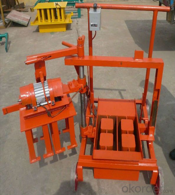 Concrete Cement Solid Block Manufacturing Machine in China