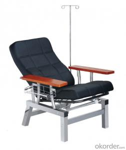 KXF- Single Chair for Transfusion with Black Cushion
