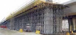 Ring Lock  Scaffolding System by HDG for Civil project