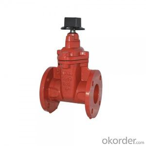 Ductile Iron Gate Valve Non-Rising Stem of BS5163