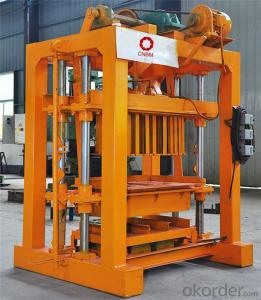 Manual Block Brick Making Machine QTJ4-40 top sale