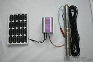 AC Solar Water Pump for Irrigation Purpose