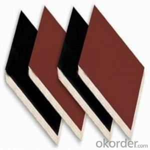 Brown and Black Film Faced Plywood with High Quality
