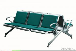 KXF- Airport Waiting Chair with PU Leather Cushion