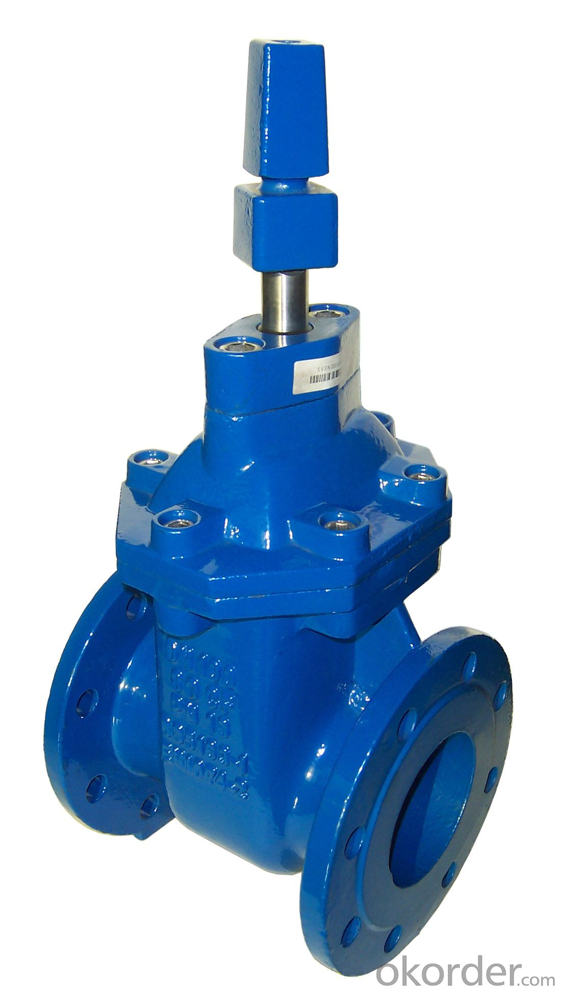 Ductile Iron Gate Valve Non-Rising Stem of DIN3352