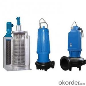 WQ Sewage Submersible Centrifugal Pump with High Quality