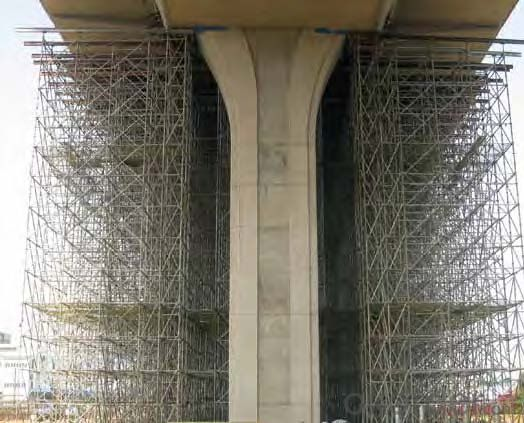 Ring Lock  Scaffolding System HDG for Project