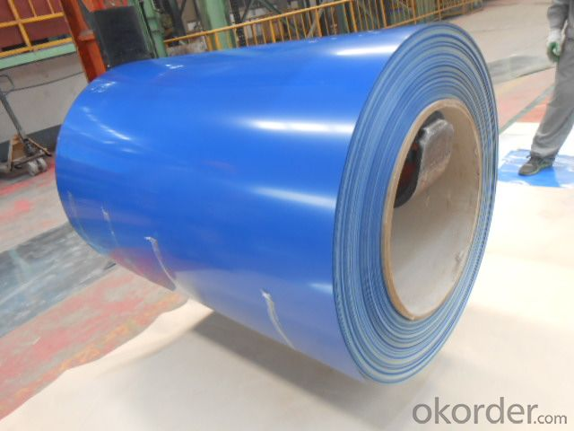 PPGI Color Coated Galvanized Steel Coil in Prime  Blue Color