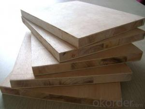 Okume Face and Back Block Board for Packing