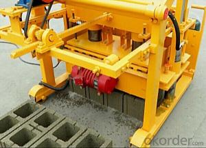 Manual Block Brick Making Machine QTJ4-40 on sale