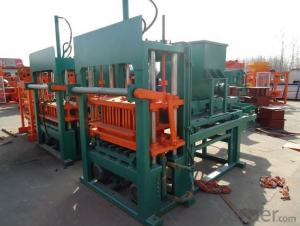 Hydraulic Block Interlocking Machine European Technology QFT5-20