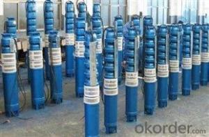 QJ Series Vertical Deep Well Submersible Centrifugal Water Pump