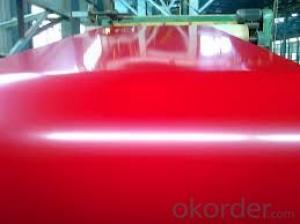 PPGI Color Coated Galvanized Steel Coil Prime Red