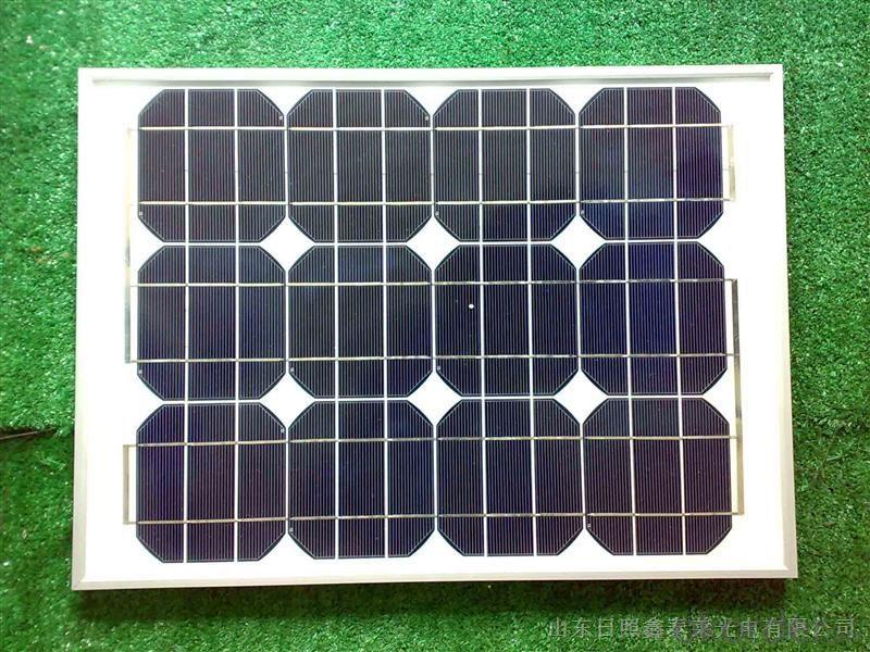 Monocrystalline Silicon Solar Panel Model CR030M-CR025M
