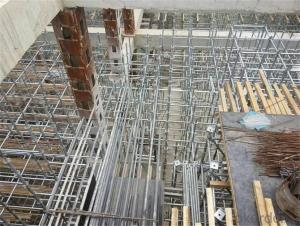 RingLock Scaffolding with  Cold Galvanized Surface Processing Style