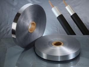 Shielding Copper Polyester Foil for  Coaxial Cables Commination Cables