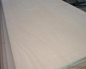 Okume Face and back Commercial Plywood Furniture Use