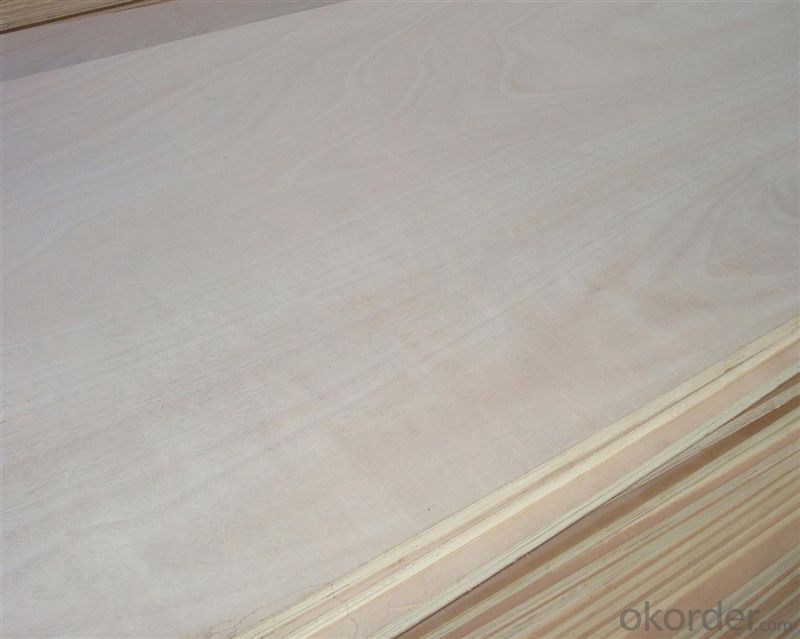 Special-Shaped Okume Face and back Commercial Plywood 915*1830mm