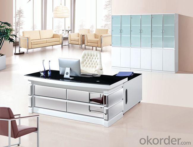 Escritorio/mesa de oficina en madera maciza CMAX-BG054 para mobiliario de oficina