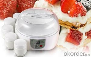 Electric Beauty Yogurt Maker with Glass Cup