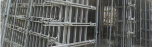 Scaffolding System-Loading Bay Fence Gate CNBM
