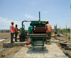 Hydraulic Block Interlocking Machine European Technology QFT5-20