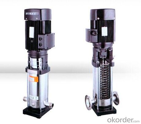 CDL/CDLF(T) Series Stainless Steel Vertical Multistage Pumps