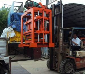 Interlocking Paving Concrete Block Machine Good Sale in the World QTJ4-40