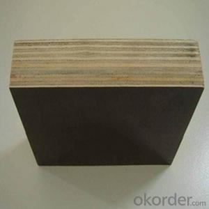 Hardwood Core Film Faced Plywood from 9-35mm Thickness