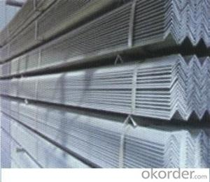 GB Q235B galvanized angle steel for construction