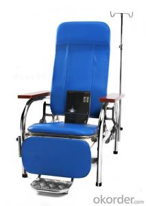 KXF- Transfusion Chair with Legs and feet support.