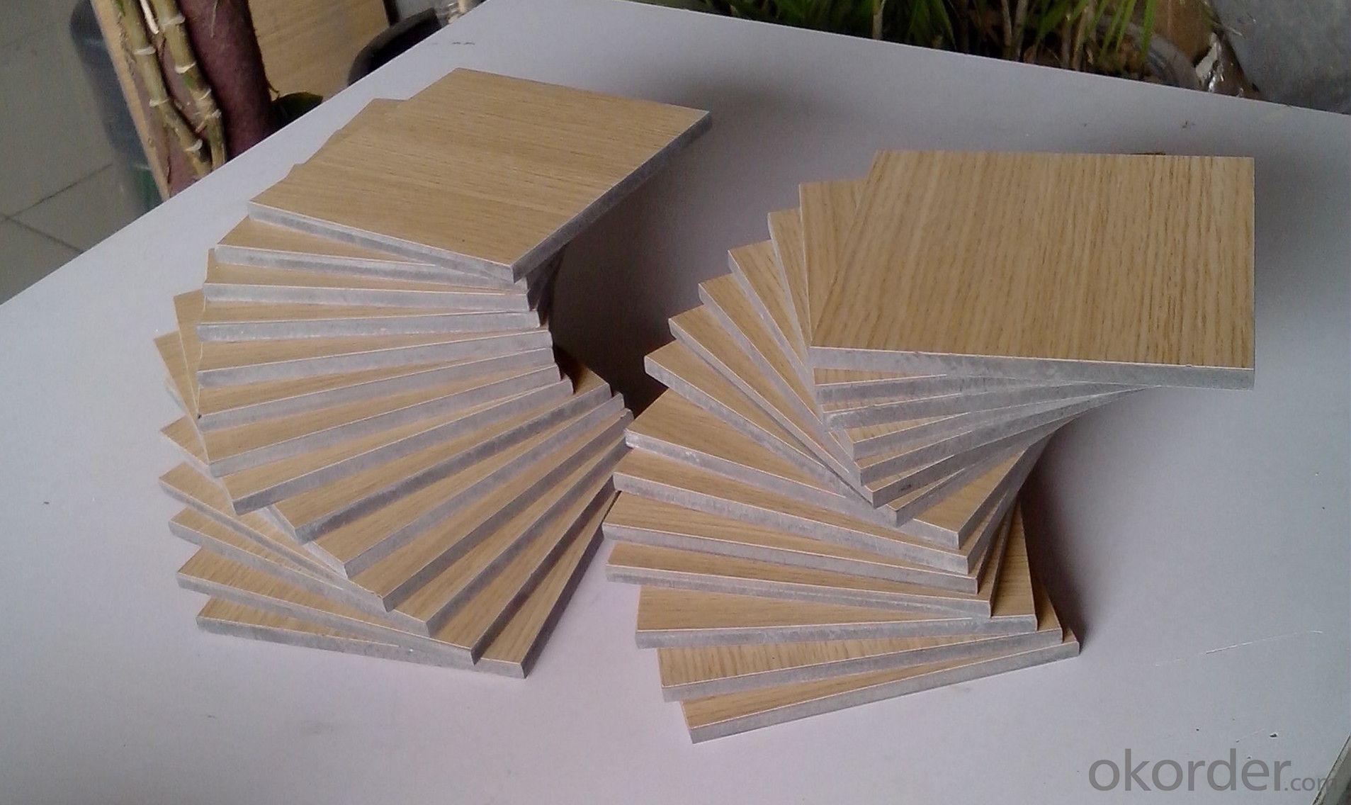 Compact High Pressure Laminate Wood Grain Surface