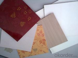 Overlay Plywood Board Fashion Design Furniture Grade
