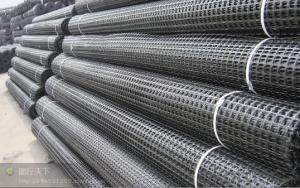 Uniaxial Plastic Geogrid for High way building