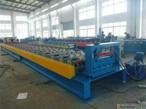 Steel Decking Floor Profiles Cold Roll Forming Machine