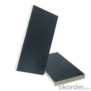 Diamond Design Anti-slip Black or Brown Film Faced Plywood
