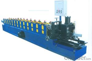 Car Garage Steel Profiles Cold Roll Forming Machine