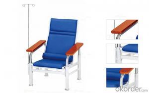 KXF- Single Transfusion Chair with Wooden Arms
