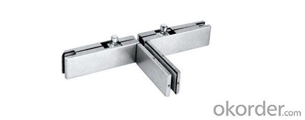 Glass Door Clamp / Stainless Steel Glass Door Patch fittingDC410