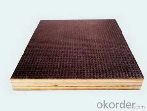Square Design Anti-Slippery Film Faced Plywood