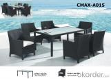 Conjunto para jardín de ratán a mano para mobiliaria de exteriores CMAX-A116
