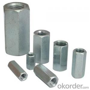 Hex Coupling Nuts with Factory Direct Price with High Quality Hot Seller