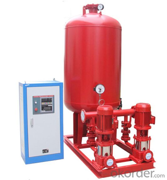 Electrical Driven Vertical Fire Fighting  Pump