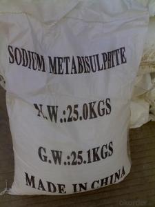 Sodium Metabisulfite  with Best Price & High Quality
