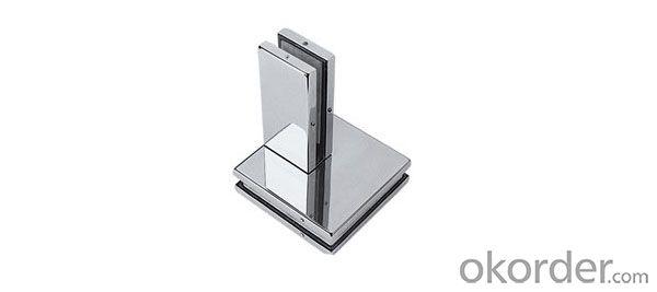 Door Clamp / Stainless Steel Glass Door Patch fittingDC411