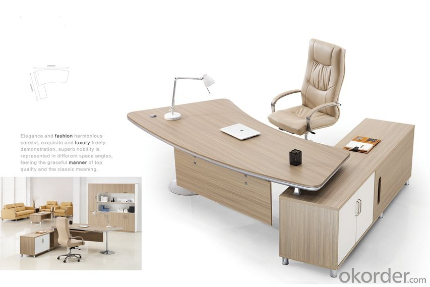 Office Furniture Commerical Desk/Table Solid Wood CMAX-BG003