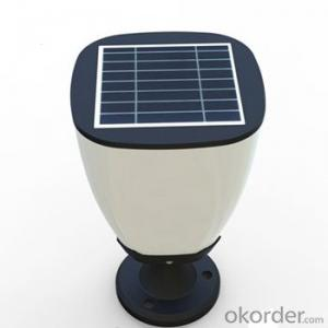 Solar Garden Pillar Light ESL-05 with Energy Saving